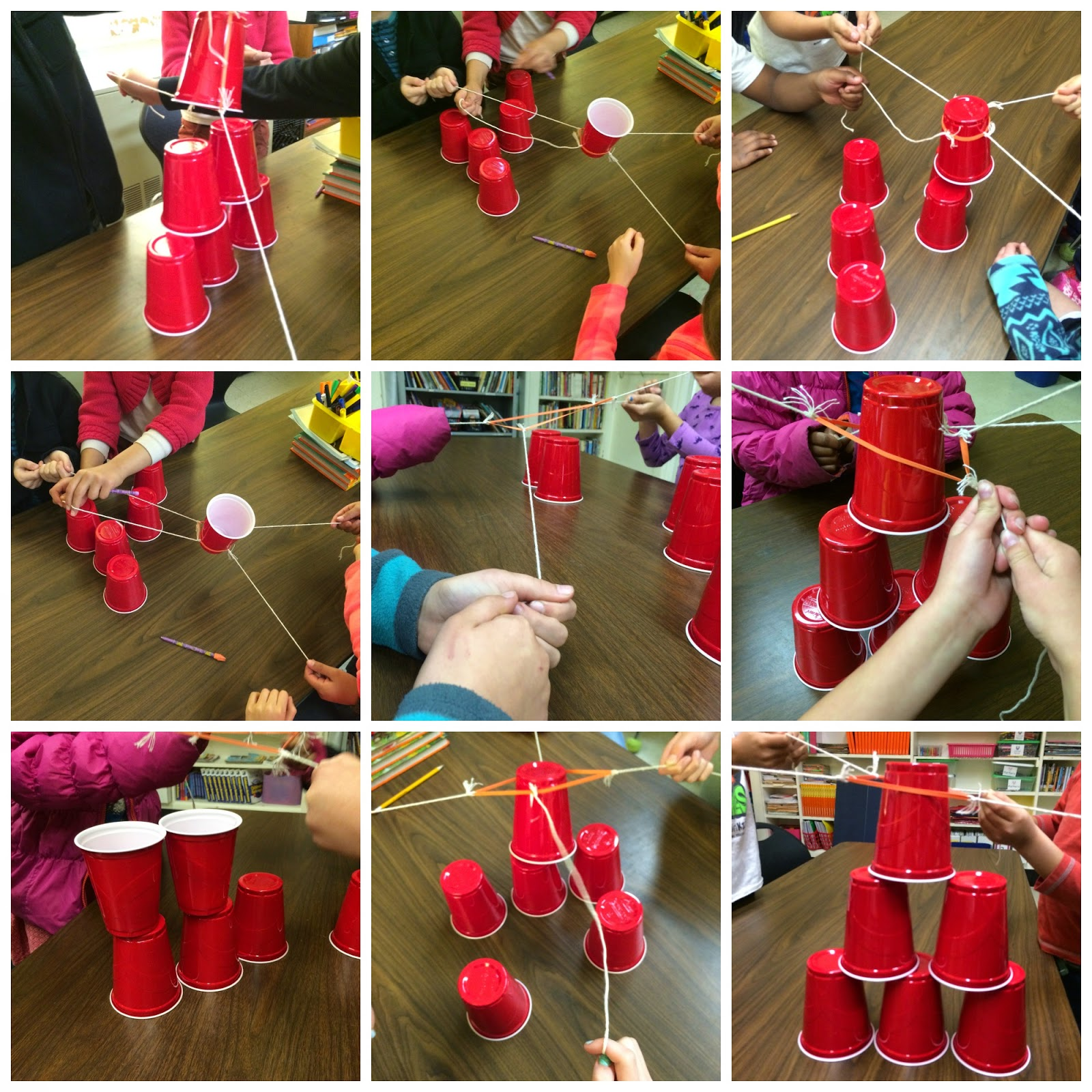Ms Sepp S Counselor Corner Teamwork In 3rd Grade Cup Stack