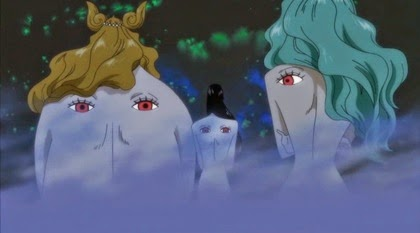 ดวงตาปีศาจบนแผ่นหลังของสามพี่น้องกอร์กอน