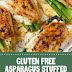 #glutenfree Asparagus Stuffed Chicken Breast