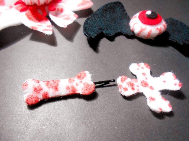 DIY Scary Halloween Accessories - Bloody Bones