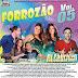 Cd (Mixado) Dj Fabrício Incomparável Forrozão Vol:05