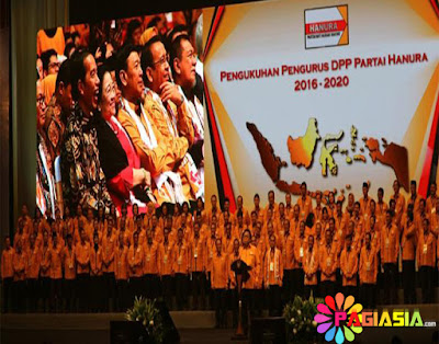 Candaan dari Oesman Sapta Mengenai Reshuffle Jilid 3 di Hadapan Jokowi