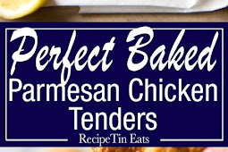 OVEN FRIED PARMESAN BAKED CHICKEN TENDERS