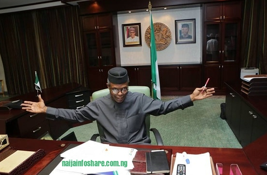 Whitout Buhari: Osibanjo Signs the Order on Change of Government and Business Operation