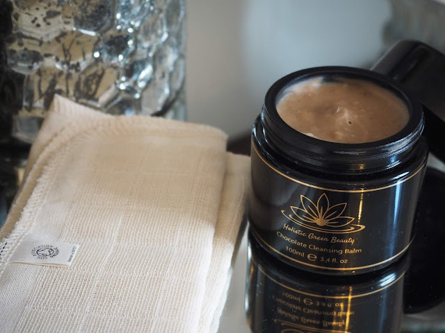 Holistic Green Beauty Chocolate Cleansing Balm
