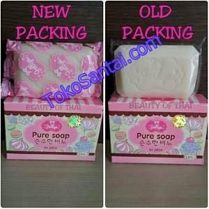 Jelly Pure Soap Kemasan Lama Baru