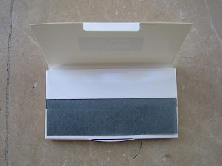 gatsby oil blotting paper powdered side