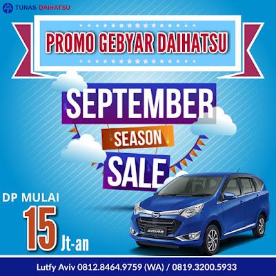 Promo Daihatsu Sigra September Ceria 2017, Asli Termurah!