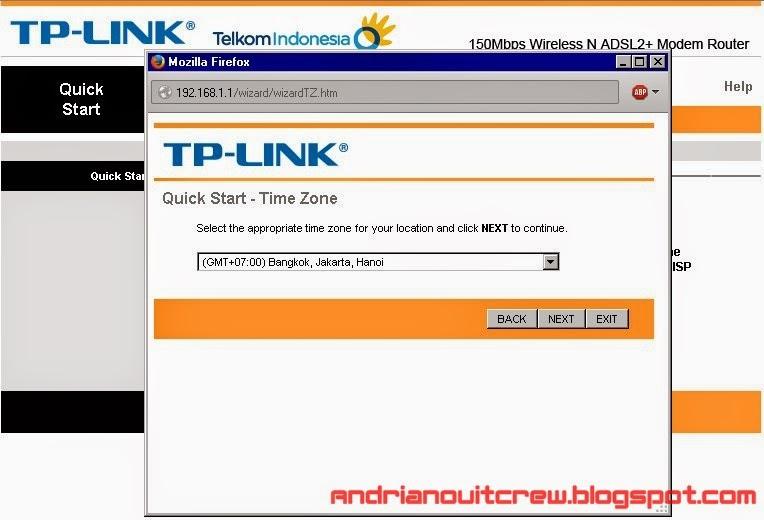 cara setting ulang modem speedy tplink adsl + wifi 3