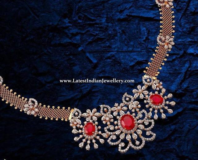 Diamond Necklace 5 Lakhs