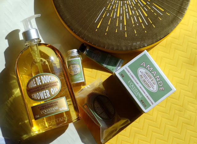 L'Occitane Delicious Almond Body Collection
