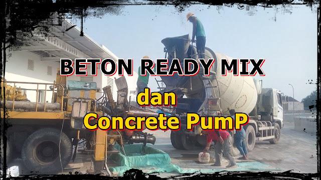 Harga Beton Ready mix 2020 -2024