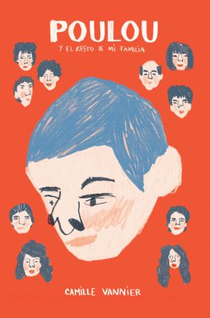 Portada del libro Poulou y el resto de mi familia de Camille Vannier