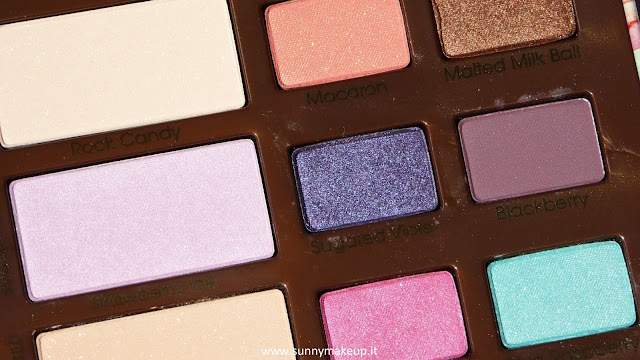 Too Faced - Sugar Pop. Palette di ombretti primavera/estate 2015.