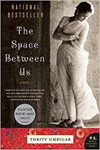 "August 2018's Book of the Month is ""The Space Between Us"""