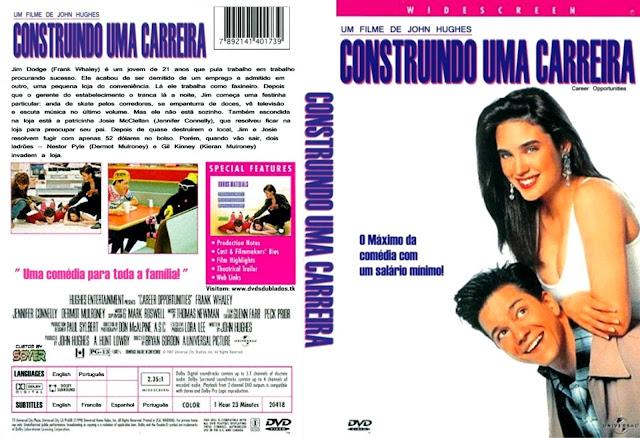 Capa DVD Construindo Uma Carreira