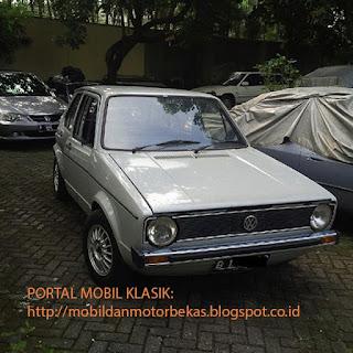 DIJUAL VW VOLKSWAGEN GOLF RABBIT CKD MK.1 TAHUN.1978 FULL ORISINIL
