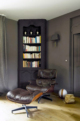 noir blanc un style. Black Bedroom Furniture Sets. Home Design Ideas