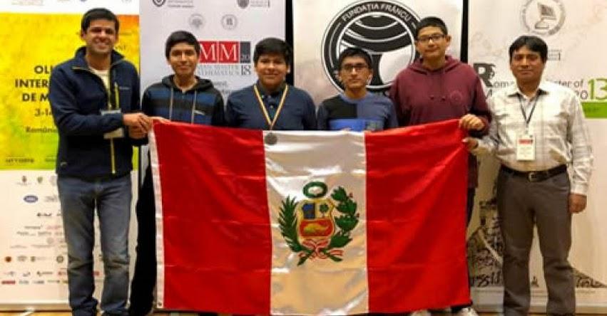 MINEDU: Perú obtuvo medalla de plata en la «10th Romanian Master of Mathematics» realizada en Bucarest, Rumanía - www.minedu.gob.pe