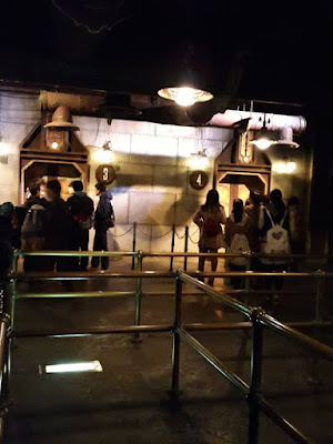 Queue to the car ride of Journey to the Centre of the Earth Tokyo Disneysea