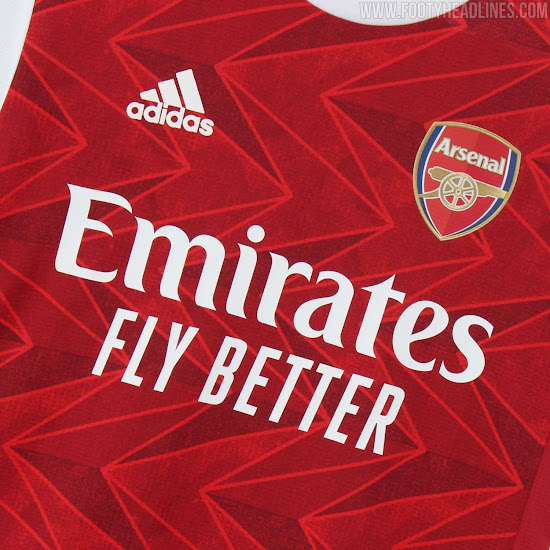 Arsenal 20 21 Home Kit Released Footy Headlines