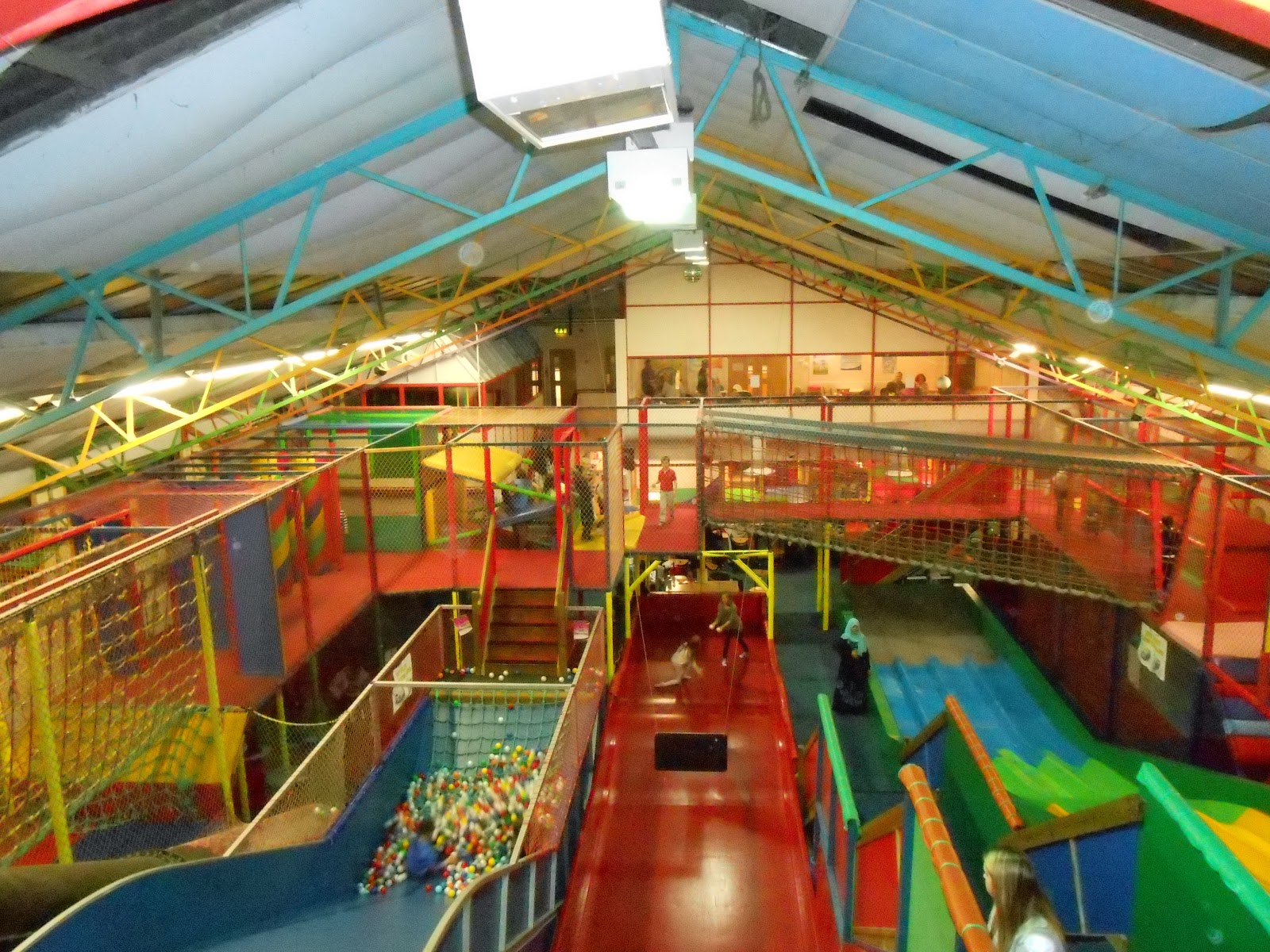 playzone cosham slides mazes and kids birthday parties