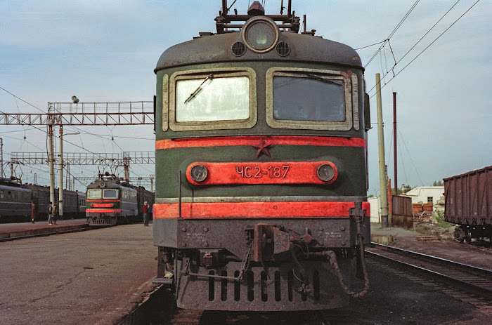 Transsibérien, © L. Gigout, 1990