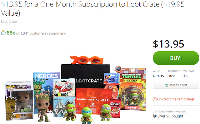 groupon deal loot crate