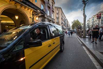 """Taxi"", Novela negra"