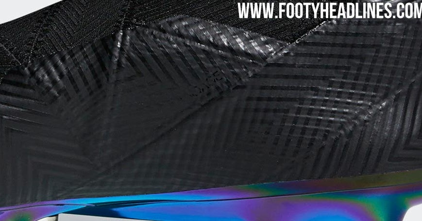 info for 43a9c c3e2e Futuristic Adidas Nemeziz 18 Shadow Mode Boots Leaked