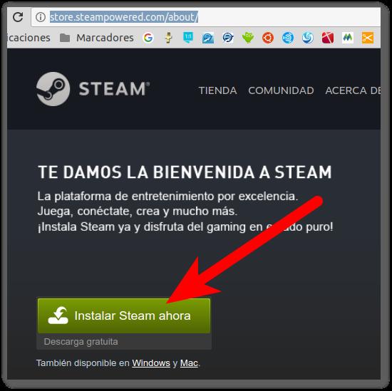 Cómo instalar Steam en Ubuntu 16.04 de 32 bits y sus Juegos