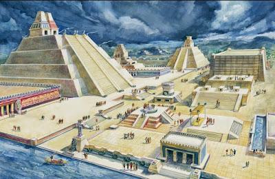 ciudad de Tenochtitlan, aztecas
