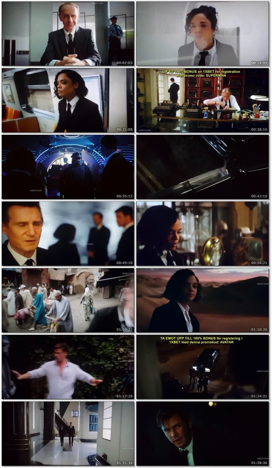 Men in Black 2019 Bluray 900mb Hollywood English Audio Movie 720p