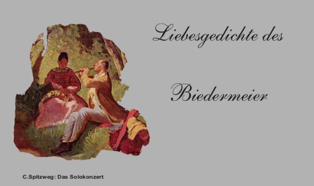Das Solokonzert Szene aus den Biedermeier