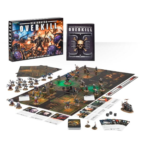 Element Games: Cheap Games Workshop Warhammer 40K Deathwatch Overkill