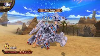 Tiara vs a giant robot