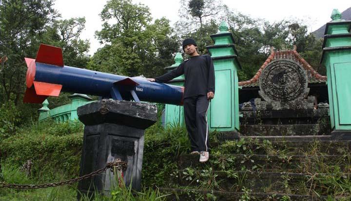 Pos II atau Pos Rudal Pendakian Merapi via Kinahrejo