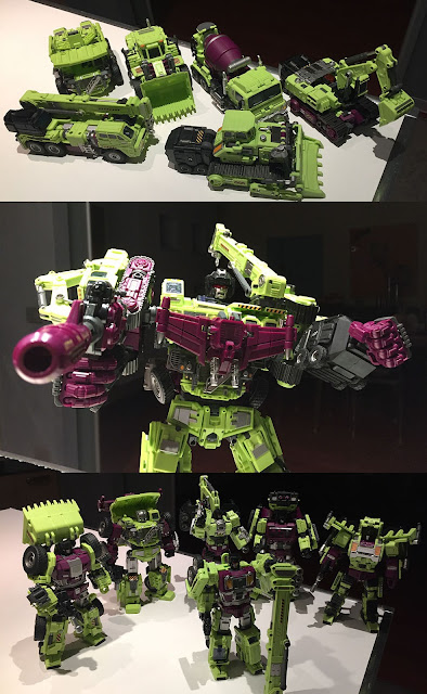 Devastator Gravity Builder Generation Toy Review