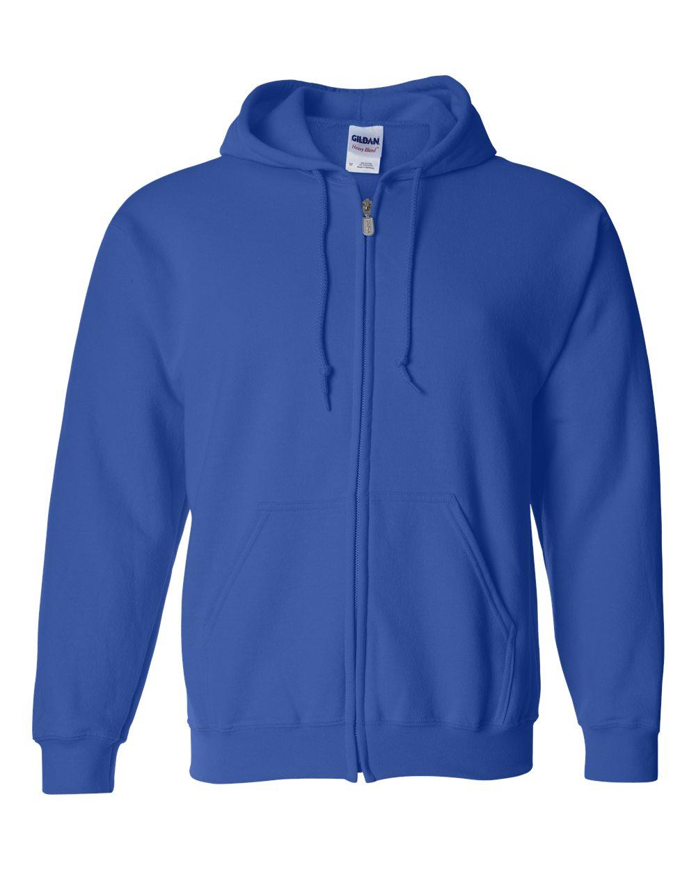 4f0620541182 Μπλούζες Φούτερ GILDAN 270gr με κουκούλα και φερμουάρ