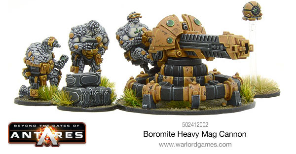 Warlord Games - Boromite Heavy Mag Cannon