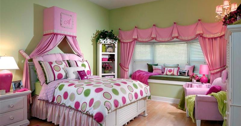 Home Interior Decorating Little Girl Bedrooms Designs