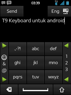 Kribo Punya Cara: T9 Keyboard Xperia X10 Mini Pro Untuk Android
