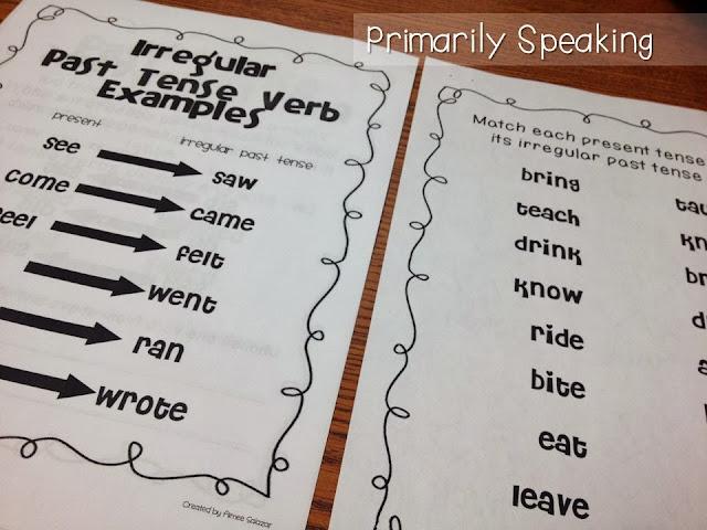 http://www.teacherspayteachers.com/Product/Arrrsome-Irregular-Verbs-Common-Core-Aligned-326176