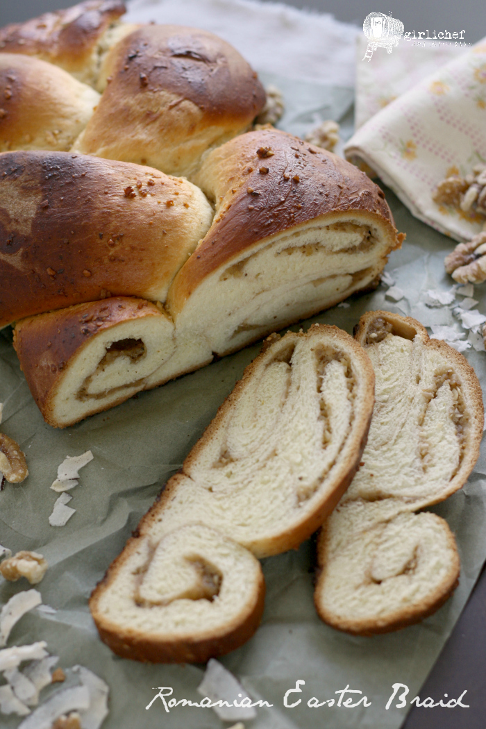Romanian Easter Braid | #BreadBakingBabes