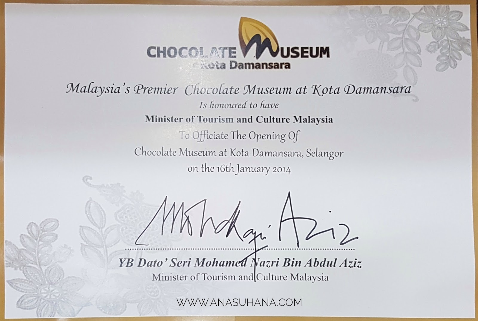 Chocolate Museum Kota Damansara