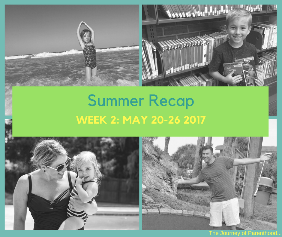 Summer Recap: Week 2