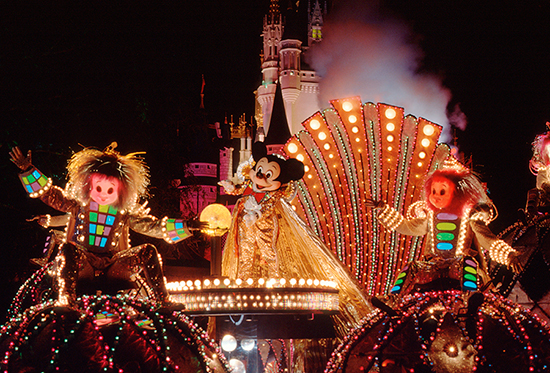 The History of Night Time Entertainment at Walt Disney World