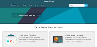 fast loading dan full responsive template blogger