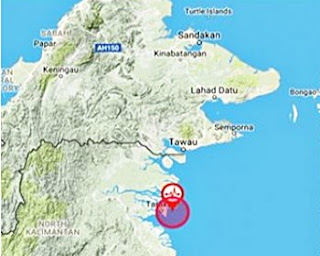 Gempa Bumi Lemah Landa Borneo