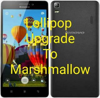 Panduan lengkap cara upgrade OS Lenovo A-7000 dari Lollipop ke Marshmallow